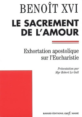 Couverture du livre : Sacramentum caritatis : exhortation apostolique sur l'eucharistie