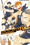 couverture Haikyū !! Les As du volley, Tome 2