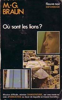 Couverture du livre : Où sont les lions ?