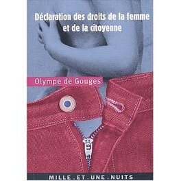 Couverture du livre : Déclaration des droits de la femme et de la citoyenne
