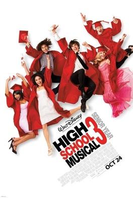 Couverture du livre : High School Musical 3 : Nos années lycée - Le roman du film