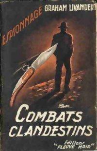 Couverture du livre : Combats clandestins