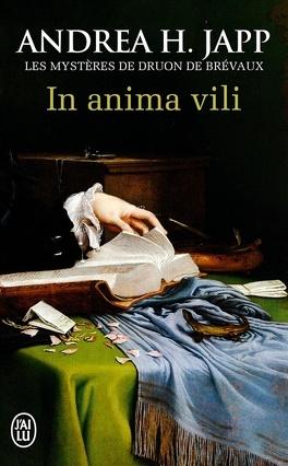 Couverture du livre : Les Mystères de Druon de Brévaux, tome 4 : In anima vili