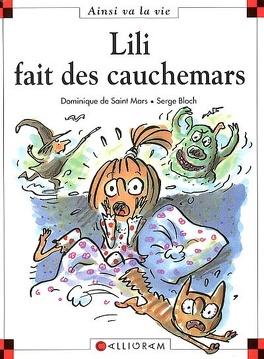 Couverture du livre : Lili fait des cauchemars