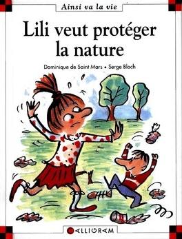 Couverture du livre : Lili veut protéger la nature