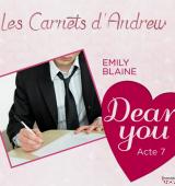 Couverture du livre : Dear You : Les carnets d'Andrew Blake