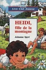 Couverture du livre : Heidi, fille de la montagne