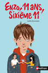 couverture Enzo, 11 ans, sixième 11