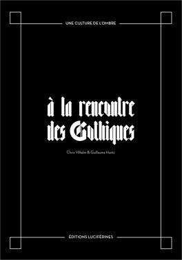 Couverture du livre : A la rencontre des Gothiques