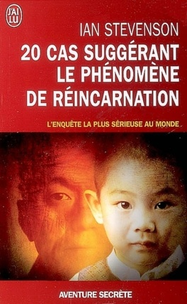 Couverture du livre : 20 cas suggérant le phénomène de réincarnation