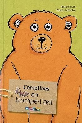 Couverture du livre : Comptines en trompe-l'oeil