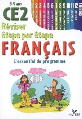 Francais Ce2 8 9 Ans L Essentiel Du Programme Livre De