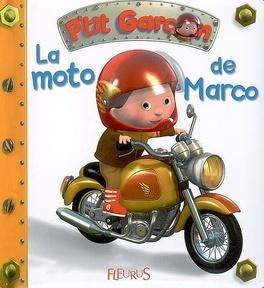 Couverture du livre : La moto de Marco