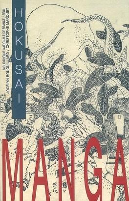 Couverture du livre : Manga : Hokusai