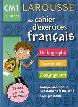 Mon Cahier D Exercices Francais Cm1 9 10 Ans Orthographe