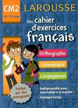 Mon Cahier D Exercices Francais Cm2 10 11 Ans Orthographe