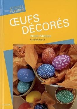 Couverture du livre : Oeufs décorés pour Pâques