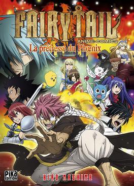 Couverture du livre : Fairy Tail - La Prêtresse du Phoenix