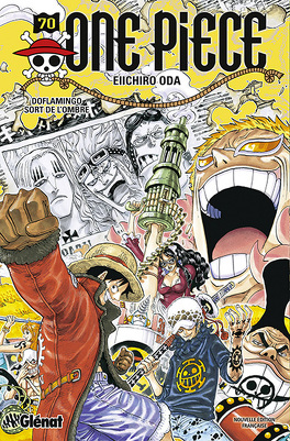Couverture du livre : One Piece, Tome 70 : Doflamingo sort de l'ombre