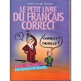 Couverture du livre : Le petit livre du français correct