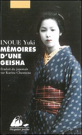 Couverture du livre : Mémoires d'une geisha