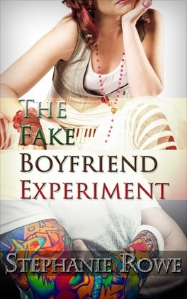 Couverture du livre : The Fake Boyfriend Experiment