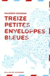 couverture Treize petites enveloppes bleues