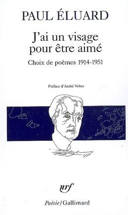 Couverture du livre : J'ai un visage pour être aimé : Choix de poèmes 1914-1951