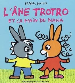 Couverture du livre : L'âne Trotro et la main de Nana