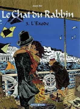 Couverture du livre : Le Chat du rabbin, Tome 3 : L'Exode