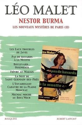 Couverture du livre : Nestor Burma, tome 3 : Les nouveaux mystères de Paris (2)