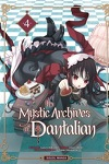 couverture The Mystic Archives of Dantalian, tome 4