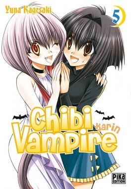 Couverture du livre : Karin, Chibi Vampire, Tome 5