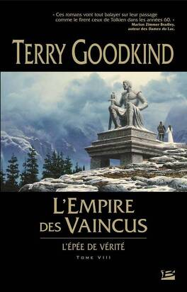 Couverture du livre : L'Épée de Vérité, tome 8 : L'Empire des vaincus