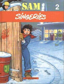 Couverture du livre : Sam: Singeries