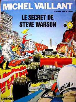 Couverture du livre : Michel Vaillant, tome 28 : Le Secret de Steve Warson