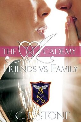 Couverture du livre : The Academy, Tome 3 : Friends vs. Family