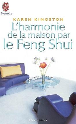 Couverture du livre : L'harmonie de la maison par le Feng Shui