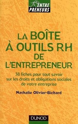 Couverture du livre : La boîte à outils RH de l'entrepreneur : 38 fiches pour tout savoir sur les droits et obligations sociales de votre entreprise