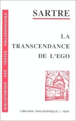 Couverture du livre : La transcendance de L'Ego