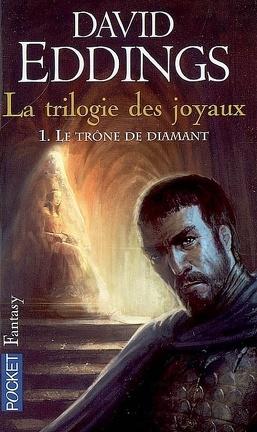 Couverture du livre : La Trilogie des joyaux, tome 1 : Le trône de diamant