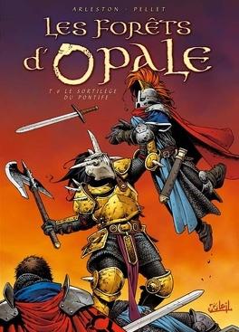 Couverture du livre : Les Forêts d'Opale, Tome 6 : Le Sortilège du pontife