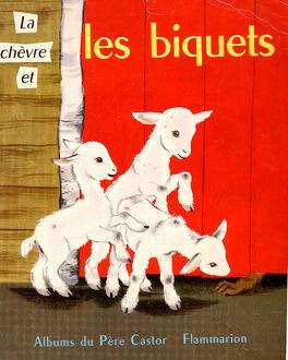 Couverture du livre : La Chèvre et les Biquets