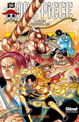 Couverture du livre : One Piece, Tome 59 : La Mort de Portgas D. Ace