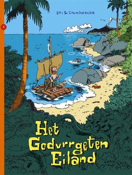 Couverture du livre : L'Île carrément perdue