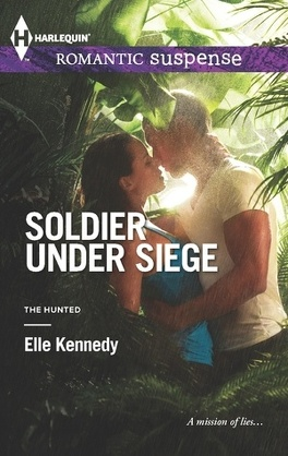 Couverture du livre : The Hunted, Tome 1 : Soldier Under Siege