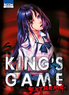 Couverture du livre : King's Game Extreme, Tome 3