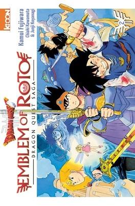 Couverture du livre : Dragon Quest – Emblem of Roto, tome 2