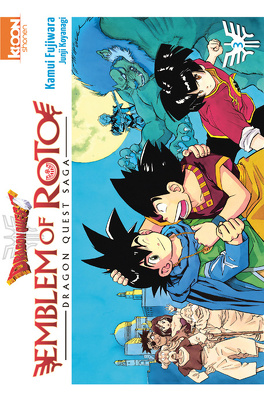 Couverture du livre : Dragon Quest – Emblem of Roto, tome 3