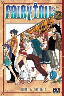 Couverture du livre : Fairy Tail, Tome 22